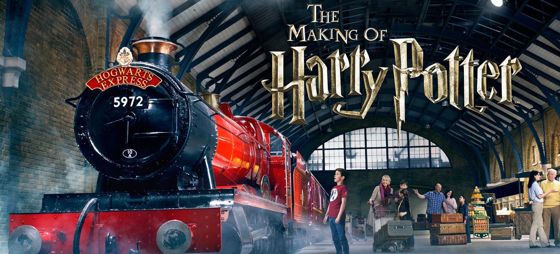 Londýn a ateliéry Harryho Pottera s ubytováním