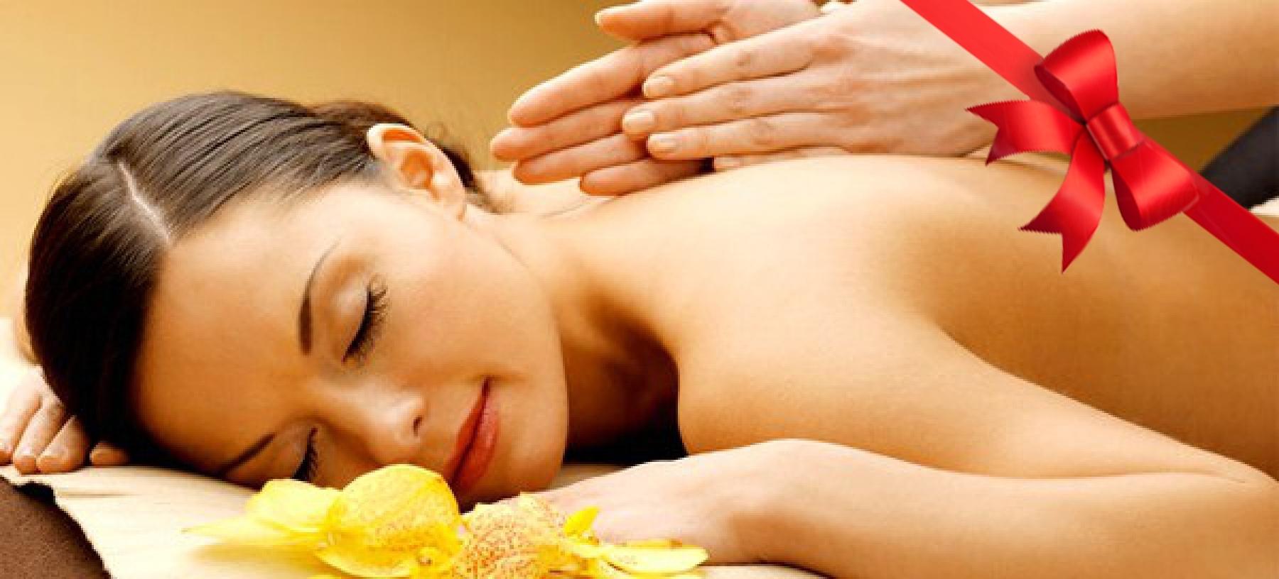 Naprosté uvolnění při 60min masáži dle výběru