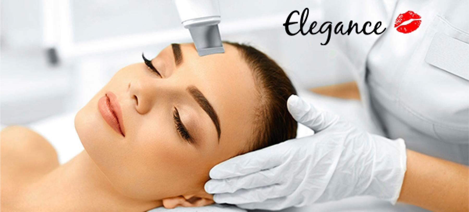 Kosmetické ošetření pleti v salonech Elegance