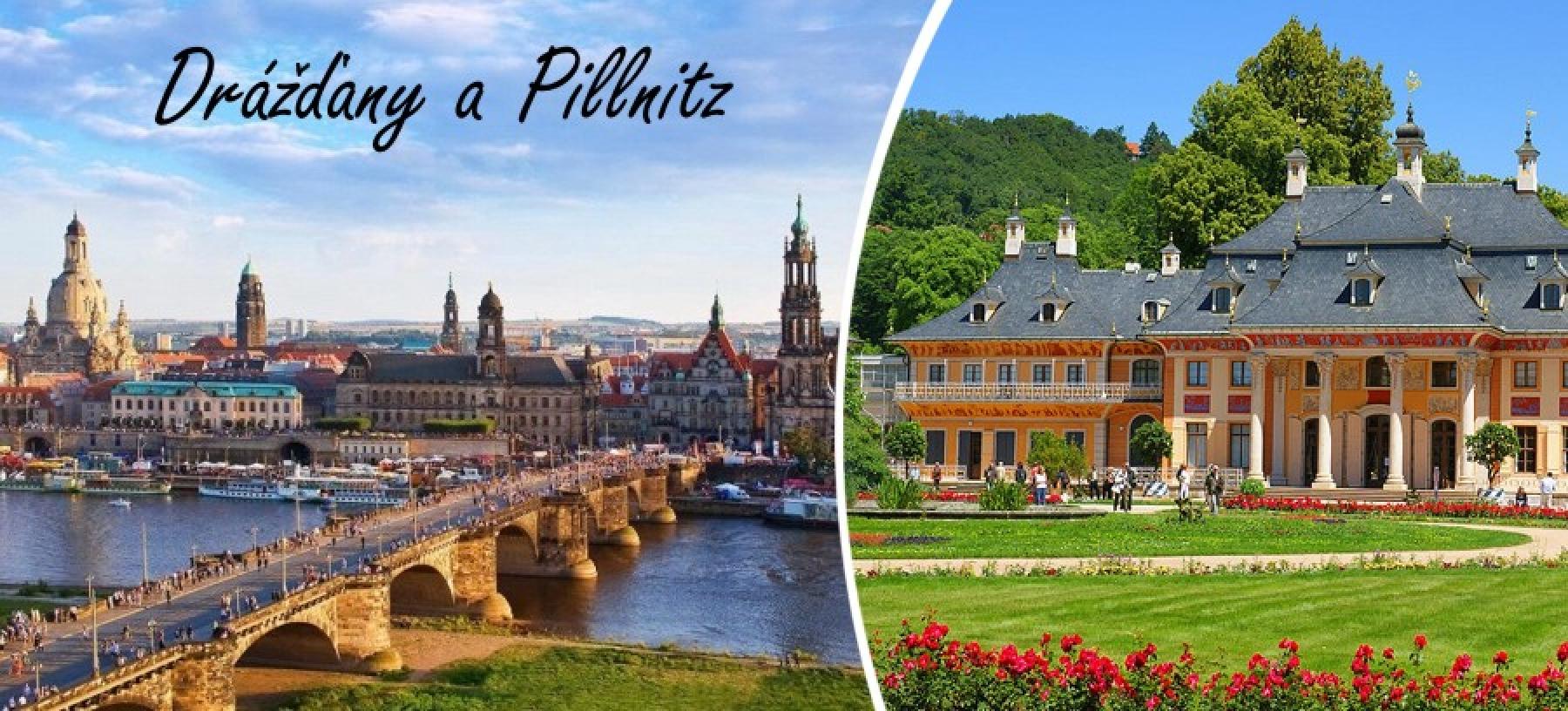 Drážďany s plavbou lodí do Pillnitz pro 1 osobu
