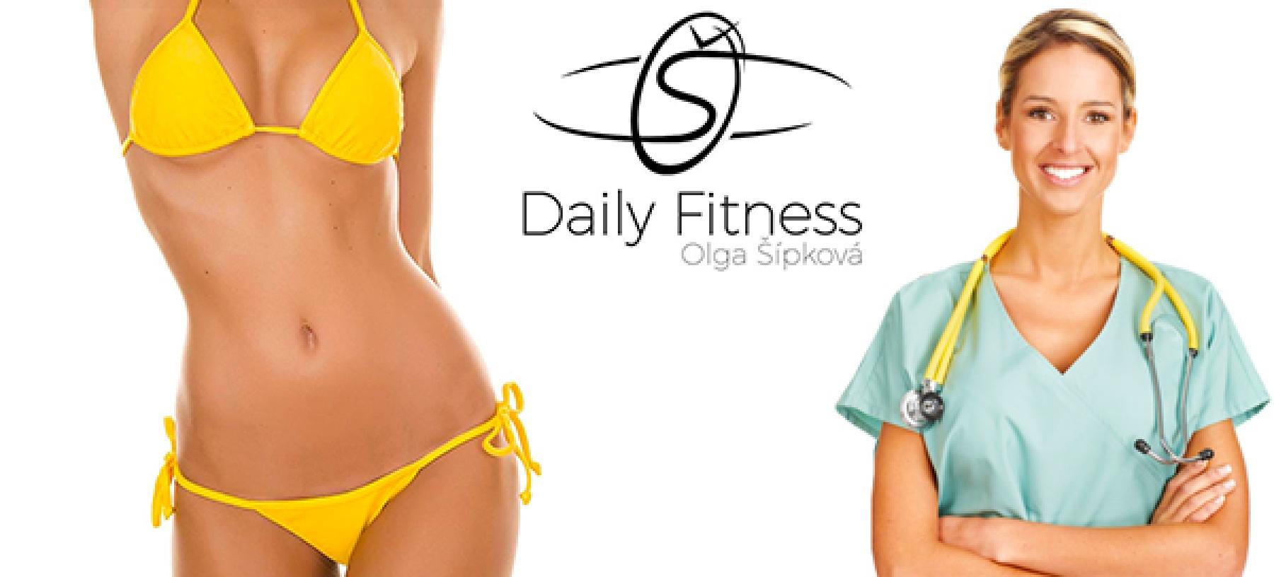 Daily Fitness Olgy Šípkové – 4× kryolipolýza BTL