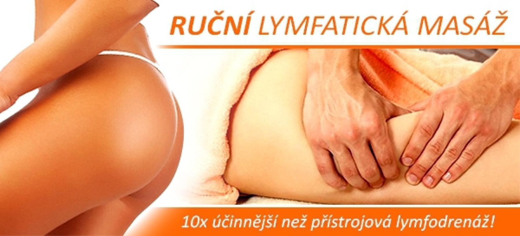 Ruční lymfatická masáž 60 minut – To Well