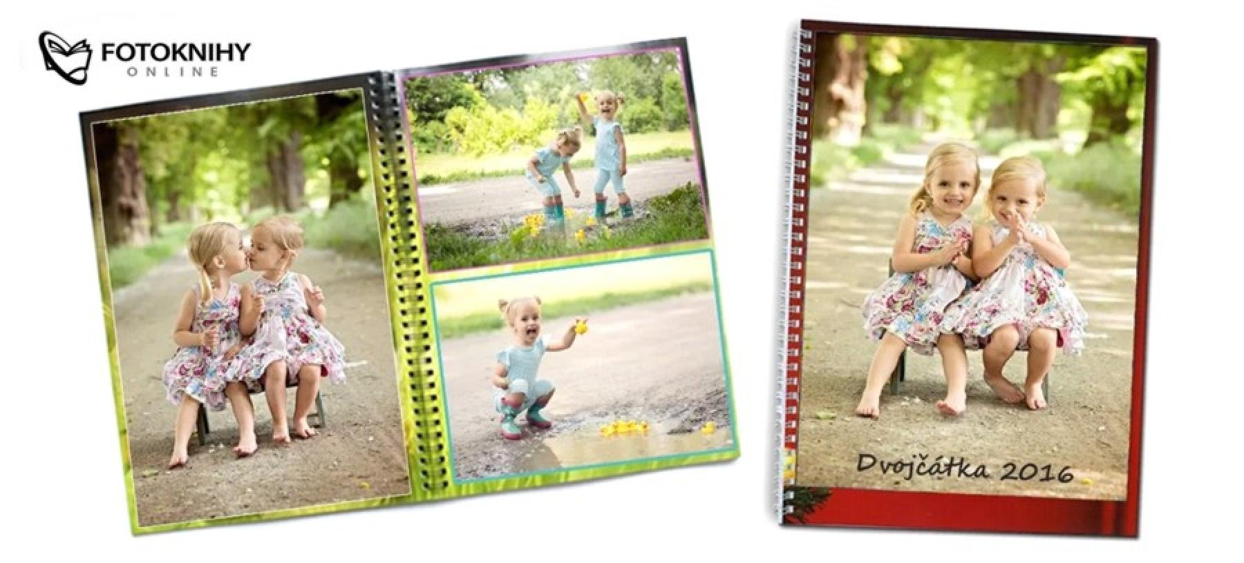 Fotokniha až 92 stran s kroužkovou vazbou