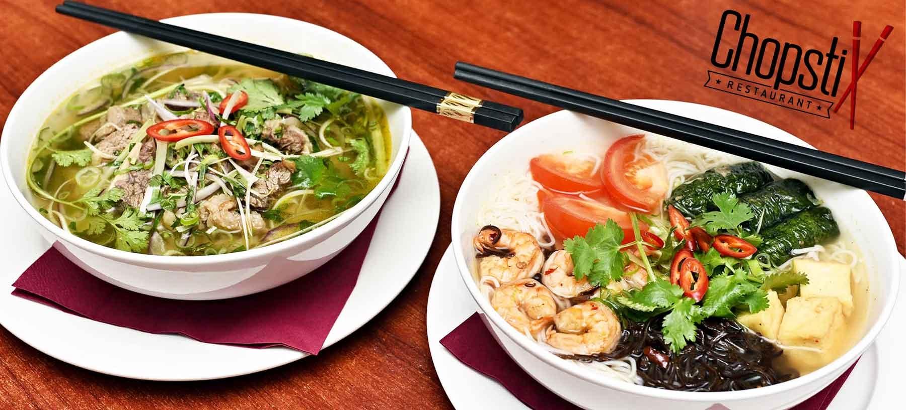 Jarní vietnamské závitky a polévka dle výběru