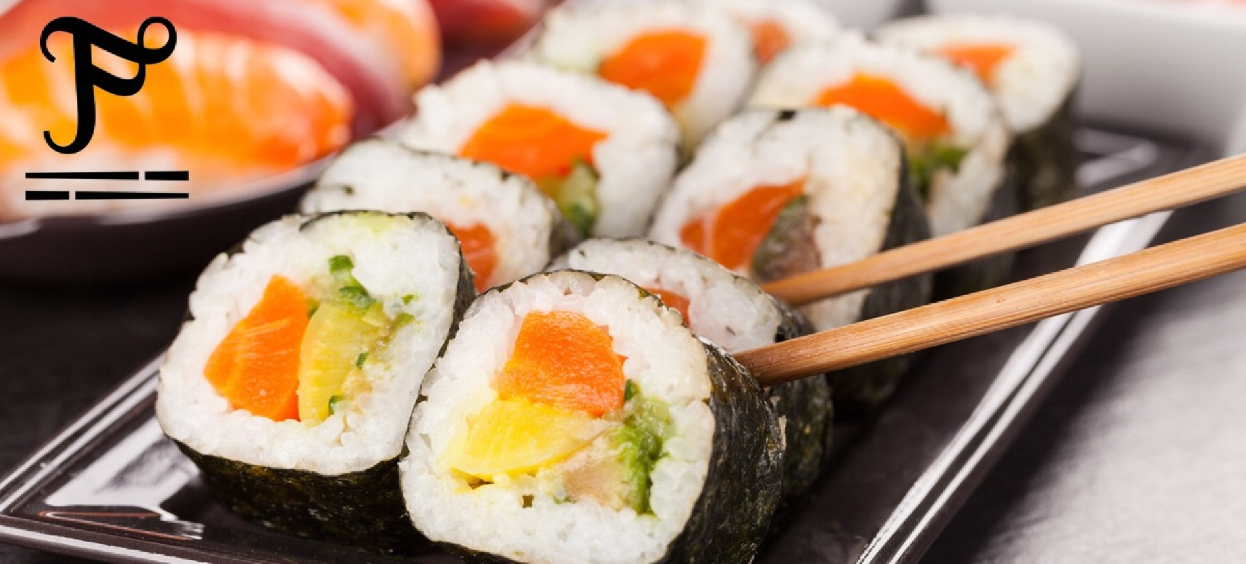 Lahodné asijské sushi v restauraci U Fugiho