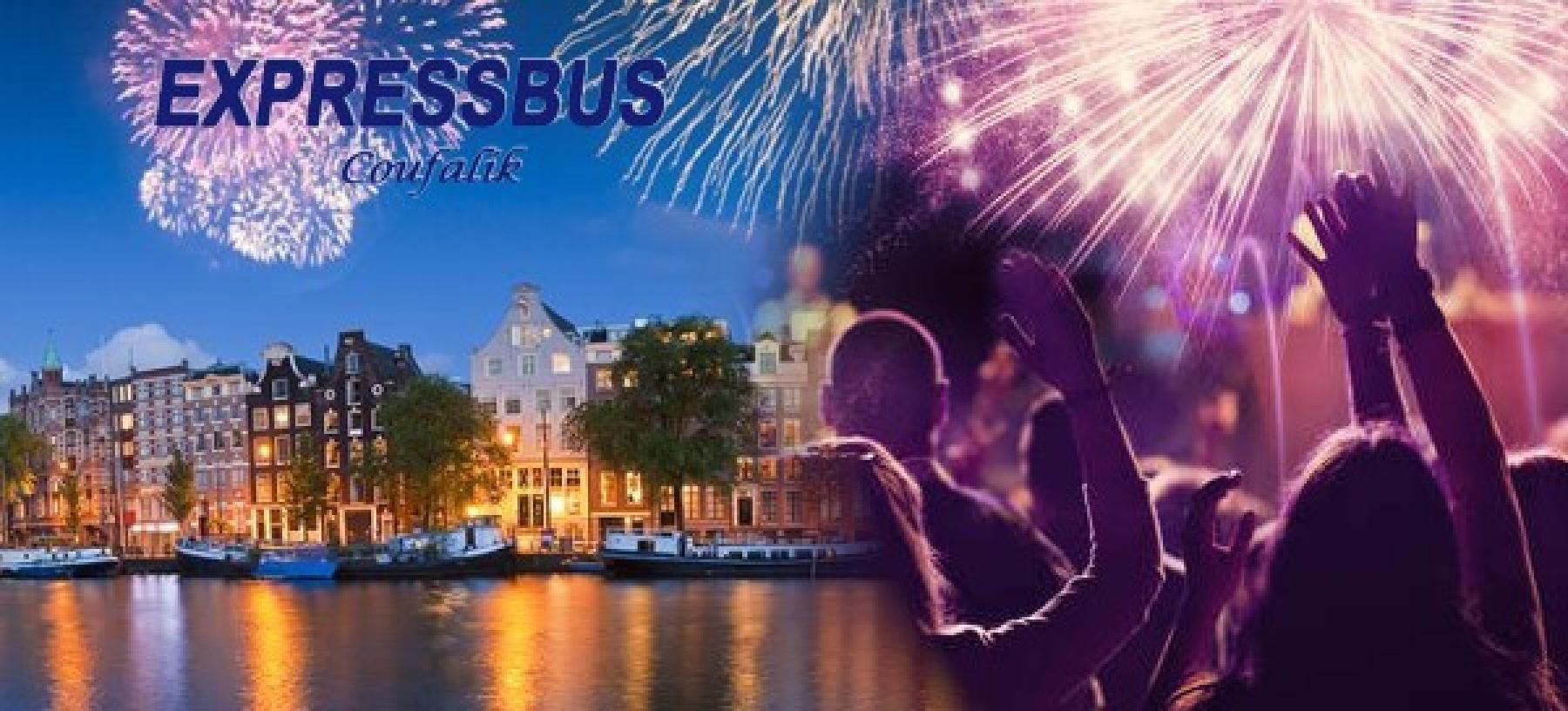 Silvestr v Amsterdamu včetně ubytování pro 1 osobu