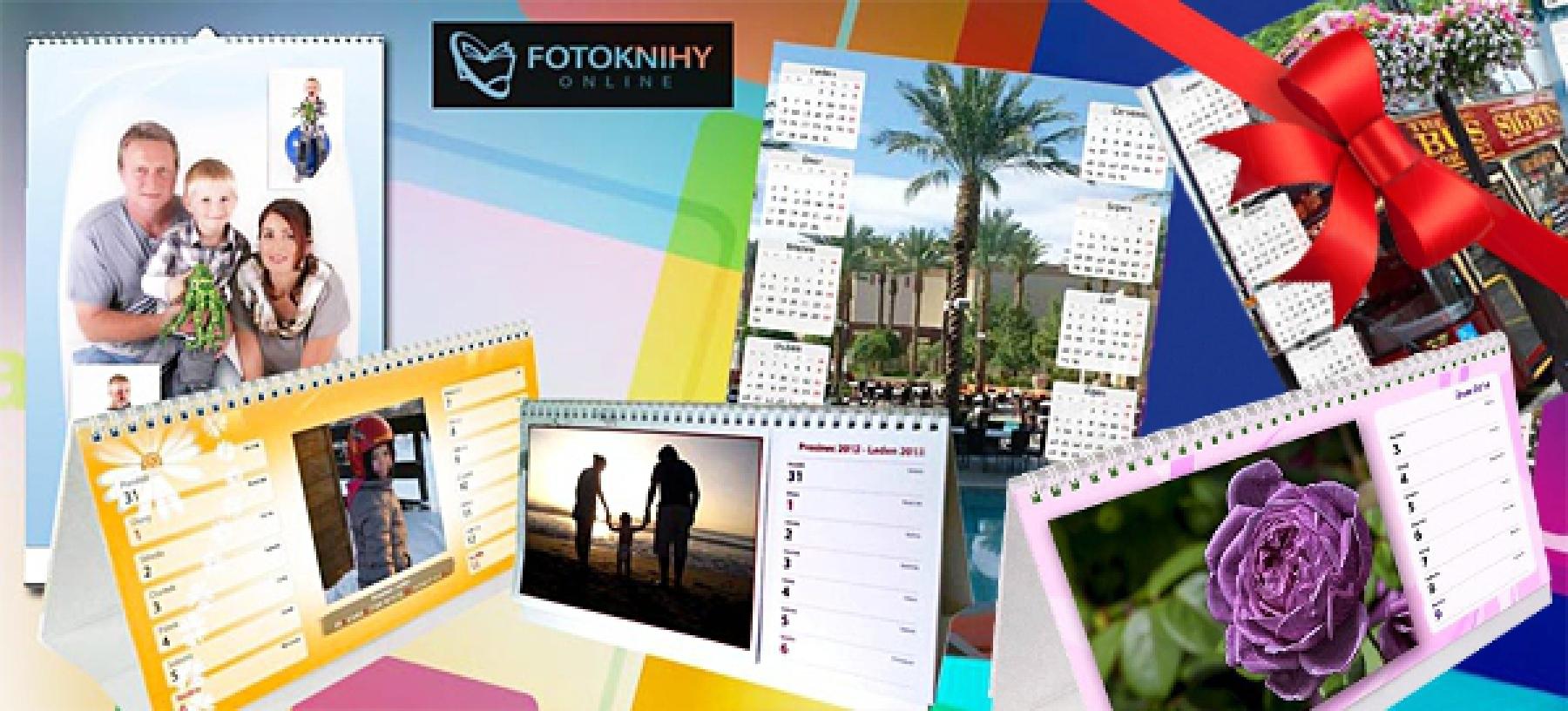 Kalendáře 2019 z vašich fotografií