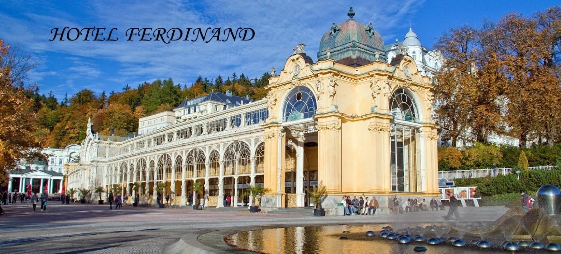 Hotel Ferdinand v Mariánských Lázních pro 2 osoby