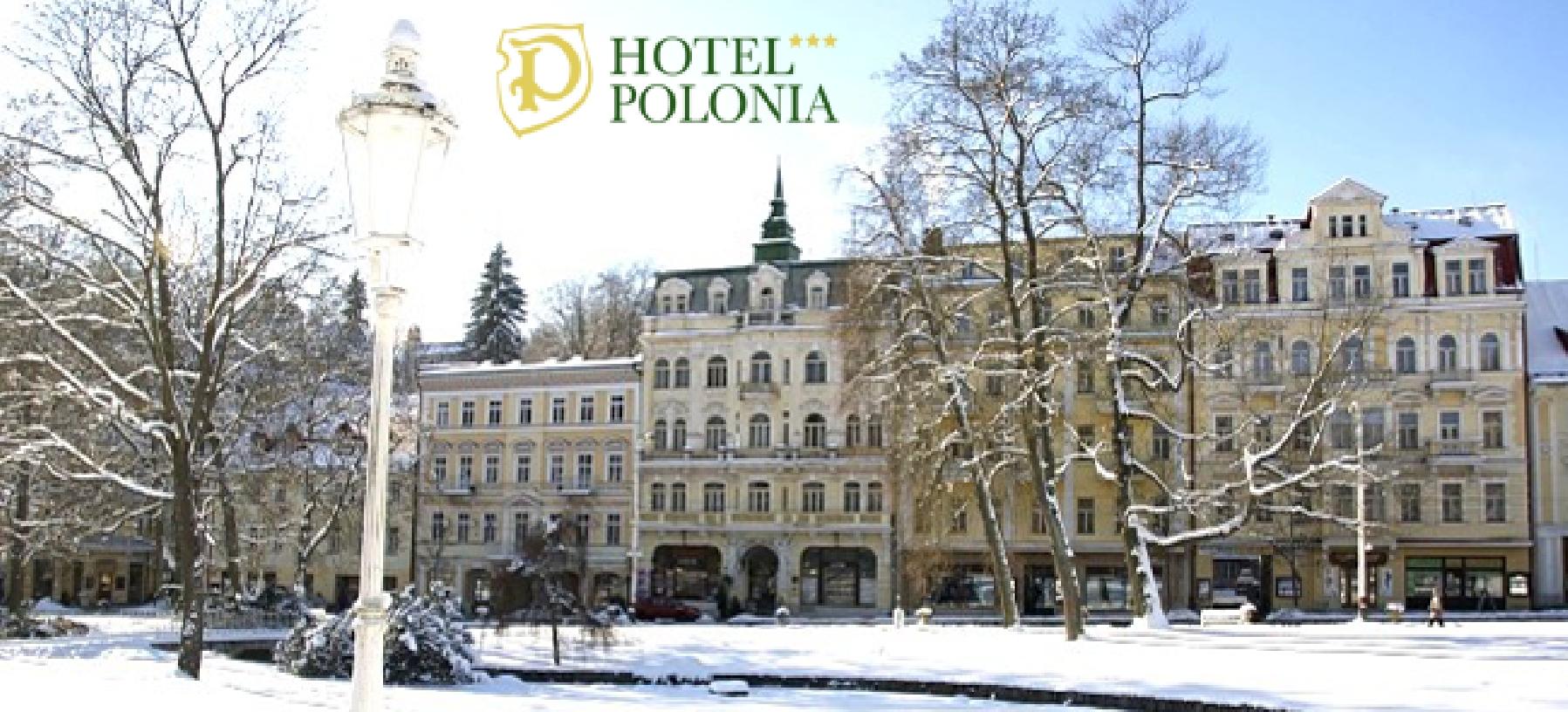 Hotel Polonia v Mariánských Lázních pro 2 osoby