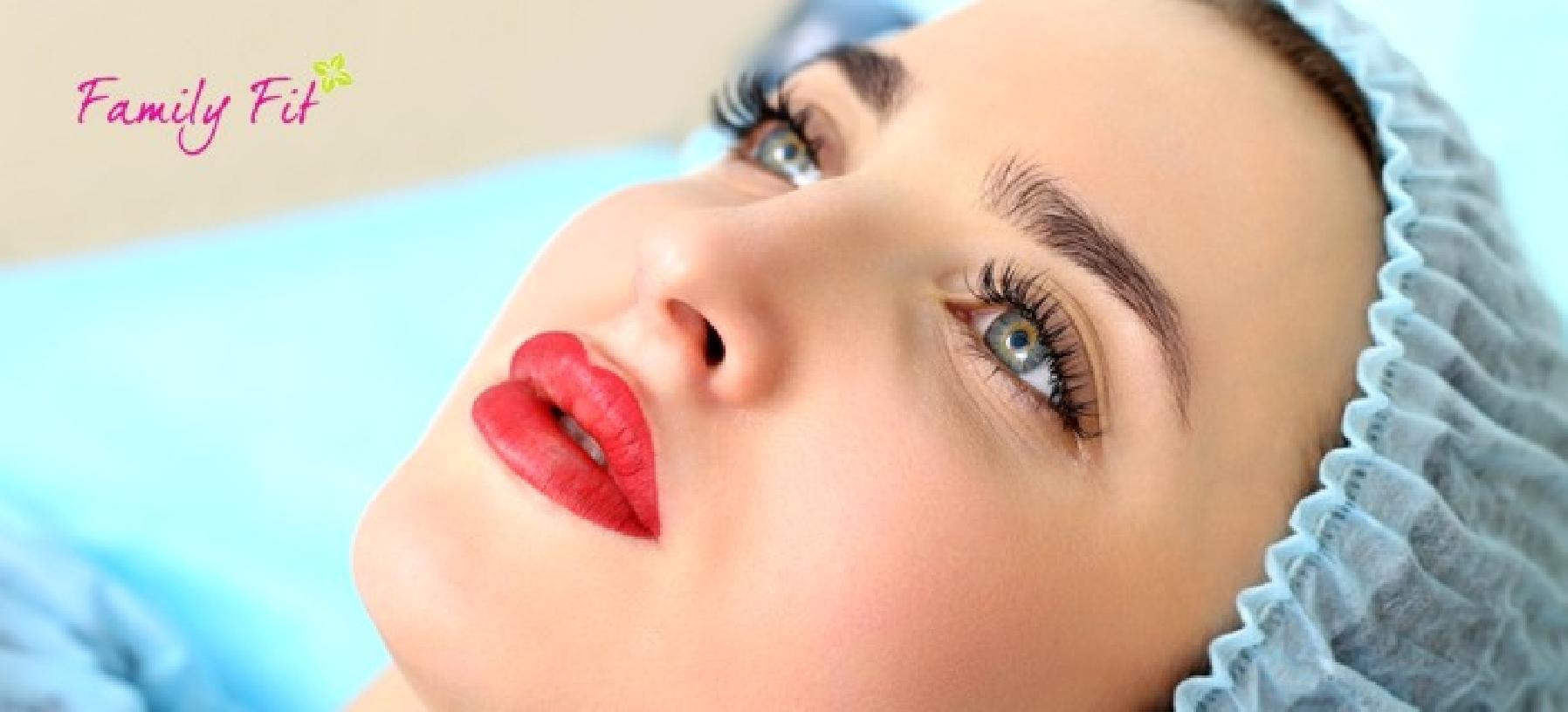 3D vláskování obočí a permanentní make-up
