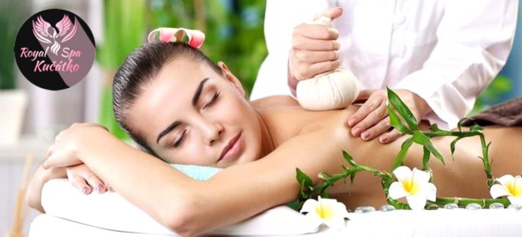 60 min. tradiční thajská nebo relaxační masáž