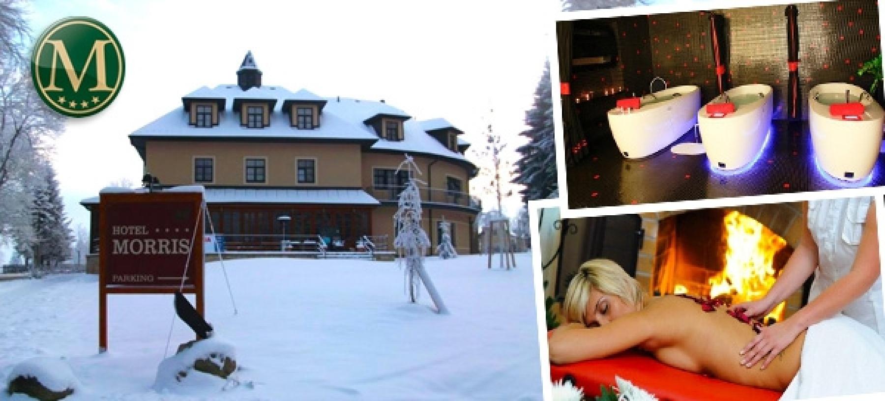 Zimní relaxační pobyt pro 2 v Mariánských Lázních