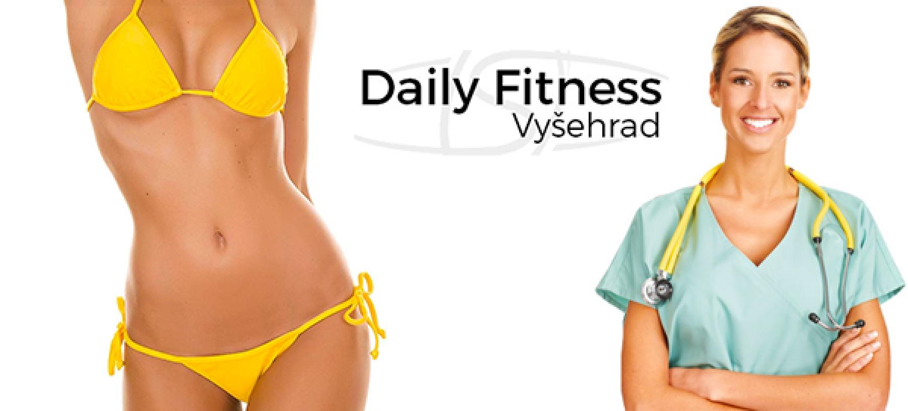 Daily Fitness Vyšehrad – 4× kryolipolýza BTL